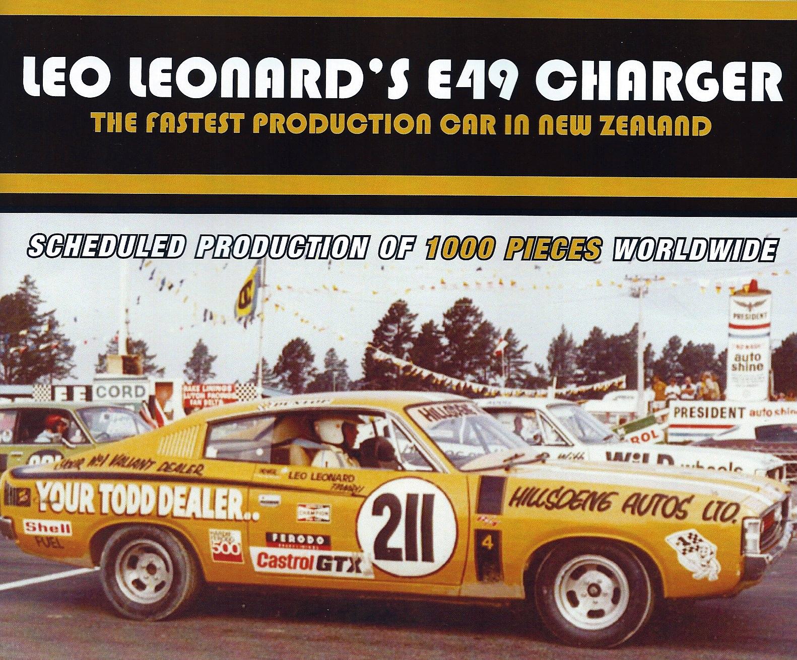 Leo Leonard's E49 Chrysler Valiant Charger