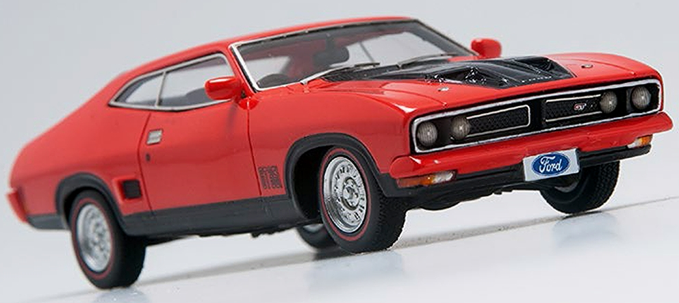 *Ford XB Falcon GT Hardtop - Red Pepper with Black Trim