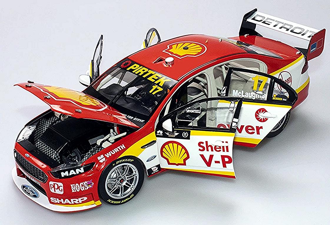 Shell V-Power Racing Team Ford FGX Falcon - 2018 Virgin Australia Supercars  Championship Season - #17 Scott McLaughlin - Adelaide 500 Livery