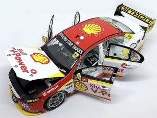 DJR Team Penske Shell V-Power Ford FGX Falcon - 2016 Supercheap Auto Bathurst 1000 - #12 Fabian Coulthard / Luke Youlden.