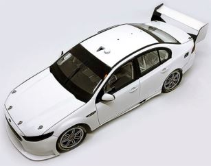 Ford FGX Falcon Supercar - White Plain Body Edition