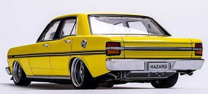 "Ford XY Falcon Street Machine ""Hazard""- Neon Yellow"