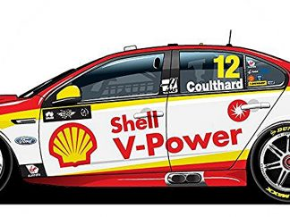 -Shell V-Power Racing Team Ford FGX Falcon - 2018 Virgin Australia Supercars Championship Season - #12 Fabian Coulthard