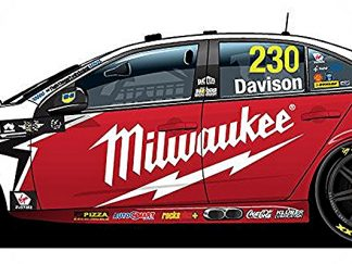 -Red Racing Milwaukee Ford FGX Falcon - 2018 Virgin Australia Supercars Championship Season - #230 Will Davison
