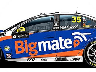 -Matt Stone Racing Bigmate Ford FGX Falcon - 2018 Virgin Australia Supercars Championship Season - #35 Todd Hazelwood