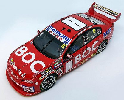Team BOC #8 Holden VF Commodore Supercar 2016 Sandown 500 Retro Livery Bright / Jones