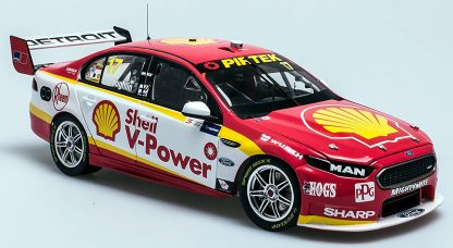 *Ford FGX Falcon – Shell V-Power Racing – 2017 Perth SuperSprint (Scott's first championship win with DJRTP). Scott McLaughlin