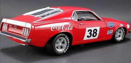 Allan Moffat Racing # 38 Coca Cola 1969 Boss302 Trans Am Mustang
