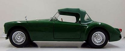 1959 MGA MKI Twin Cam - Green
