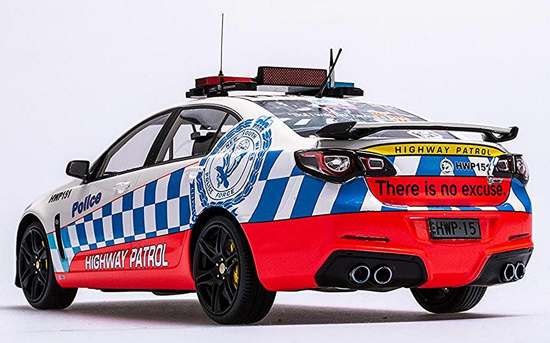 HSV GEN-F GTS NSW Highway Patrol